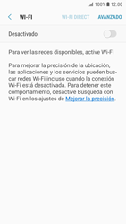 Samsung Galaxy S7 - Android Nougat - WiFi - Conectarse a una red WiFi - Paso 6