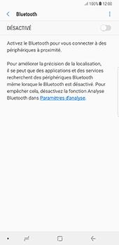 Samsung Galaxy Note 8 - Internet et connexion - Connexion avec un équipement multimédia via Bluetooth - Étape 7