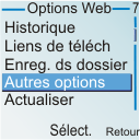 Nokia 6030 - Internet - navigation sur Internet - Étape 8