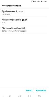LG Q7 - E-mail - Account instellen (POP3 zonder SMTP-verificatie) - Stap 16