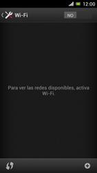 Sony Xperia J - WiFi - Conectarse a una red WiFi - Paso 5