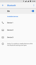 Nokia 3 (DualSim) - Android Oreo - Bluetooth - Pair with another device - Step 7