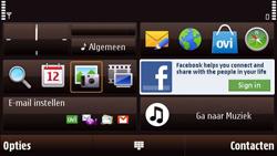 Nokia N97 Mini - SMS - handmatig instellen - Stap 1