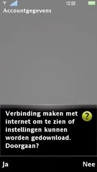Sony Ericsson U1i Satio - E-mail - Handmatig instellen - Stap 10