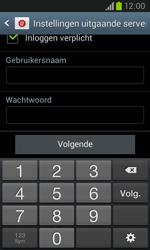 Samsung Galaxy Core (I8260) - E-mail - Account instellen (IMAP met SMTP-verificatie) - Stap 15