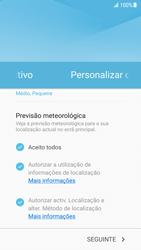 Samsung Galaxy S7 - Android Nougat - Primeiros passos - Como ligar o telemóvel pela primeira vez -  19