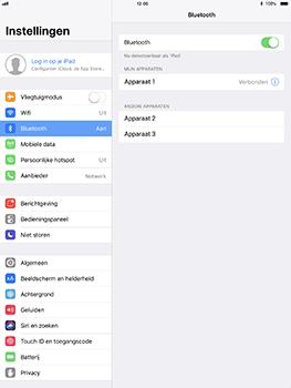 Apple iPad Pro 10.5 inch met iOS 11 (Model A1709) - Bluetooth - Headset, carkit verbinding - Stap 7