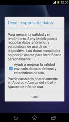 Sony Xperia M2 - Primeros pasos - Activar el equipo - Paso 14