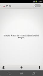 Sony Xperia Z1 4G (C6903) - WiFi - Handmatig instellen - Stap 5
