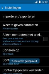 Samsung Galaxy Young2 (SM-G130HN) - Contacten en data - Contacten kopiëren van toestel naar SIM - Stap 12