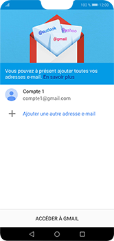 Huawei P20 lite - E-mails - Ajouter ou modifier votre compte Gmail - Étape 14