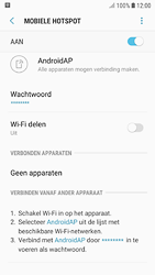 Samsung galaxy-s7-android-oreo - WiFi - Mobiele hotspot instellen - Stap 12