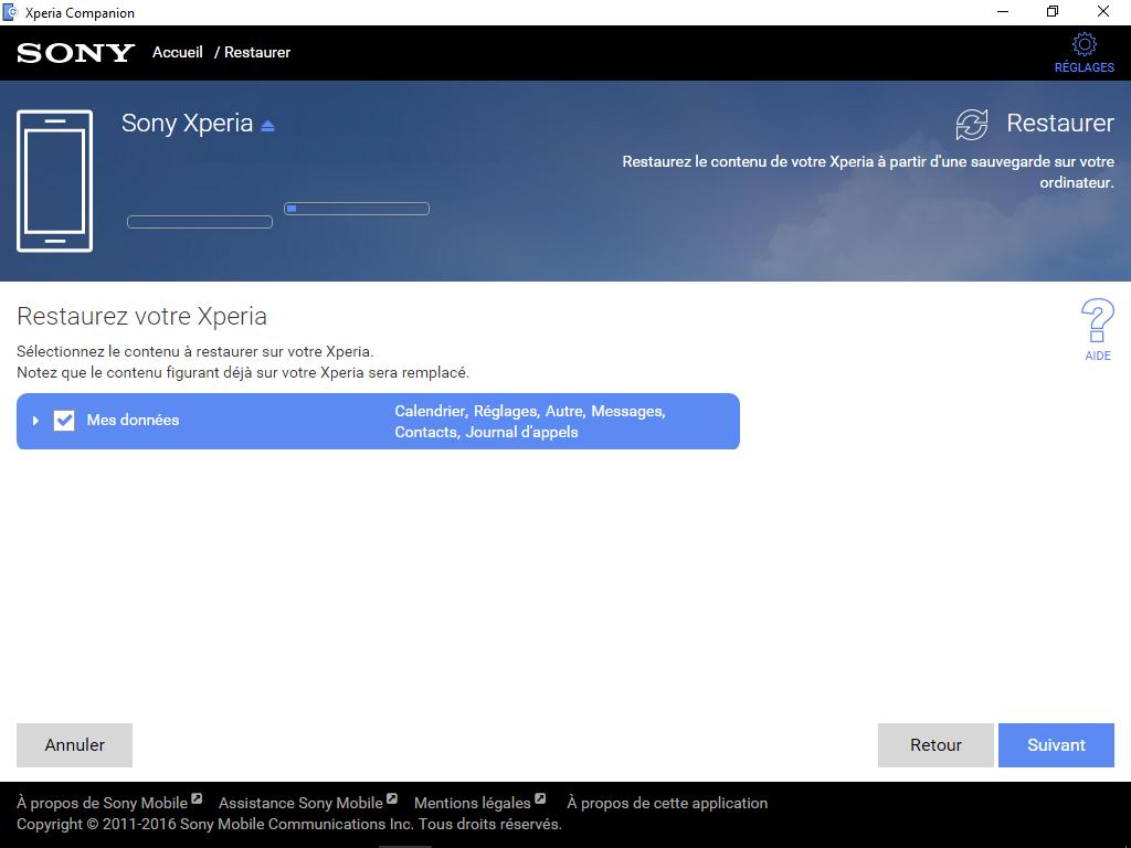 Sony Xperia XA2 - Aller plus loin - Gérer vos données avec un ordinateur - Étape 13