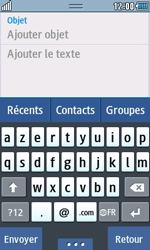 Samsung Wave 723 - E-mails - Envoyer un e-mail - Étape 8