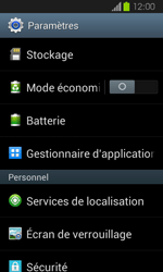 Samsung Galaxy Express - Applications - Supprimer une application - Étape 4