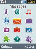 Samsung B2100 Xplorer - SMS - Configuration manuelle - Étape 3