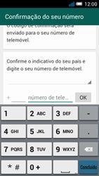 Alcatel POP C7 - Aplicações - Como configurar o WhatsApp -  6