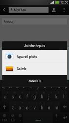 HTC One Mini - MMS - envoi d'images - Étape 12