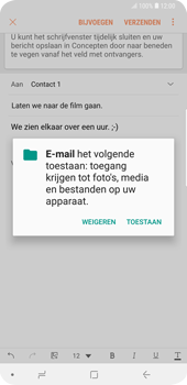Samsung Galaxy S9 Plus - E-mail - hoe te versturen - Stap 13
