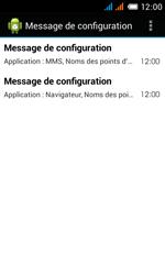 Alcatel OT-4033X Pop C3 - Paramètres - reçus par SMS - Étape 5