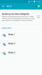 Samsung Galaxy S4 LTE - Wi-Fi - Como ligar a uma rede Wi-Fi -  6