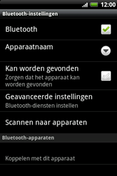 HTC A510e Wildfire S - Bluetooth - koppelen met ander apparaat - Stap 9