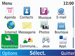 Nokia C3-00 - Internet - Configuration manuelle - Étape 3