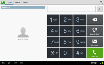 Samsung P5100 Galaxy Tab 2 10-1 - Messagerie vocale - configuration manuelle - Étape 5