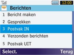 Samsung S3570 Chat 357 - MMS - probleem met ontvangen - Stap 13