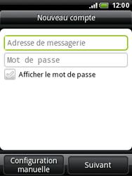 HTC A3333 Wildfire - E-mail - Configuration manuelle - Étape 5