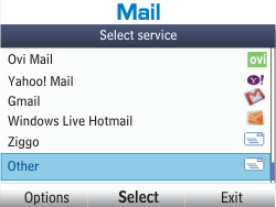 Nokia Asha 201 - E-mail - Manual configuration - Step 5