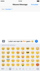 Apple iPhone 6s iOS 10 - iOS features - Stuur een iMessage - Stap 14