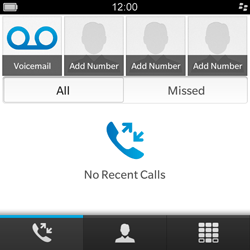BlackBerry Q5 - Voicemail - Manual configuration - Step 3