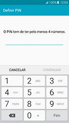 Samsung Galaxy A5 (2016) (A510F) - Segurança - Como ativar o código de bloqueio do ecrã -  7