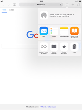 Apple Apple iPad Pro 9.7 - iOS 11 - Internet - Navigation sur internet - Étape 5