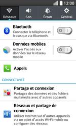 LG F70 - Internet et connexion - Activer la 4G - Étape 4