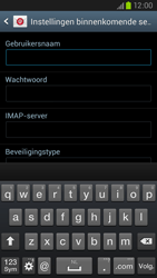 Samsung I9305 Galaxy S III LTE - E-mail - Account instellen (IMAP zonder SMTP-verificatie) - Stap 8