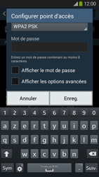 Samsung Galaxy Grand 2 4G - Internet et connexion - Partager votre connexion en Wi-Fi - Étape 8