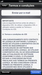 Apple iPhone iOS 6 - Primeiros passos - Como ativar seu aparelho - Etapa 14