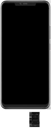 Huawei Mate 20 Pro - Toestel - simkaart plaatsen - Stap 3
