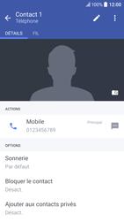 HTC 10 - Contact, Appels, SMS/MMS - Ajouter un contact - Étape 9