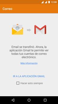 Motorola Moto X Play - E-mail - Configurar correo electrónico - Paso 5