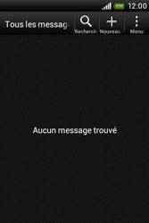 HTC A320e Desire C - SMS - configuration manuelle - Étape 3