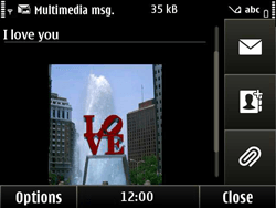 Nokia E6-00 - MMS - Sending pictures - Step 10