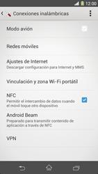 Sony Xperia Z1 - Mensajería - Configurar el equipo para mensajes multimedia - Paso 5