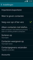 Samsung Galaxy K Zoom 4G (SM-C115) - Contacten en data - Contacten kopiëren van toestel naar SIM - Stap 7
