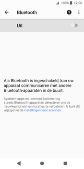 Sony Xperia XZ2 (H8216) - Bluetooth - Aanzetten - Stap 5