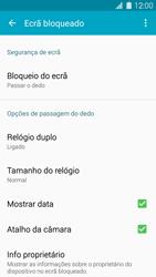 Samsung Galaxy S5 - Segurança - Como ativar o código de bloqueio do ecrã -  5