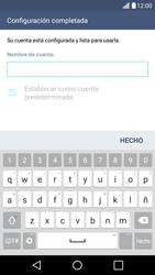 LG K10 4G - E-mail - Configurar Outlook.com - Paso 10