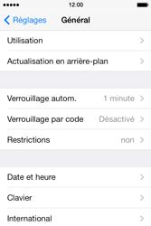 Apple iPhone 4S - Sécuriser votre mobile - Activer le code de verrouillage - Étape 4